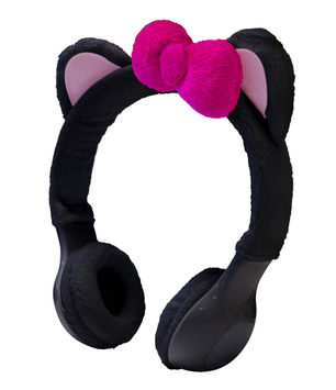 Sentron INTERWORKS UNLIMITED INC Mix Monster Headphones - Black Kitty