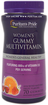 Puritan's Pride Women's Gummy Multivitamin-70 Gummies