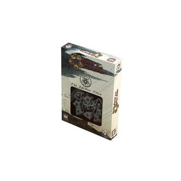 Q-workshop Spider Clan Legend of the Five Rings Dice Set
