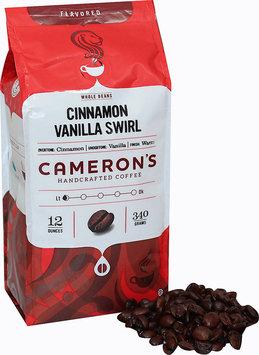 Cameron's Cinnamon Vanilla Swirl Whole Bean Coffee-12 oz Bag