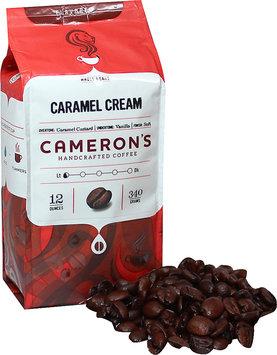 Cameron's Caramel Cream Whole Bean Coffee-12 oz Bag