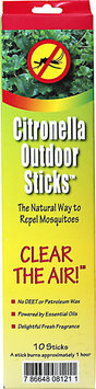 Neem Aura Naturals Outdoor Citronella Sticks - 10 count