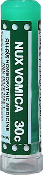Ollois Homeopathic Medicine - Nux Vomica 30 C - 80 Pellets