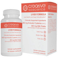 Creative Bioscience, Llc Creative Bioscience Liver Formula Dietary Supplement, 60 count