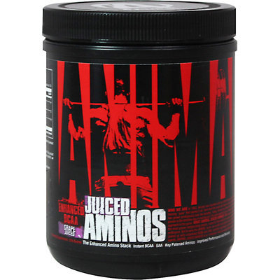Universal Nutrition Animal Juiced Aminos Grape Juiced 30 Servings