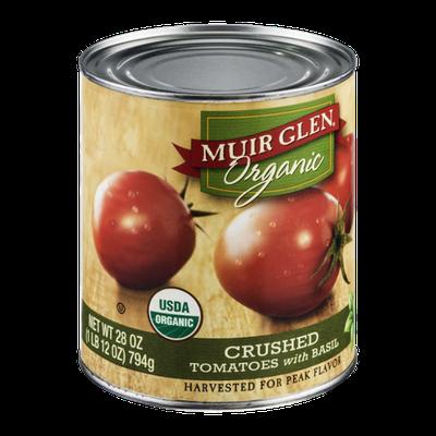 Muir Glen Organic Crushed Tomatoes With Basil