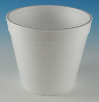 WINCUP 24FC49 Container, Disposable, White, 24 Oz, PK 500