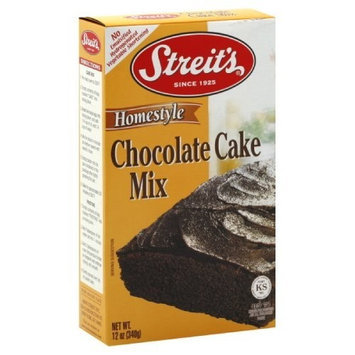 Streits Streit's Cake Mix, Gourmet Chocolate, Passover, 12-Ounce (Pack of 4)
