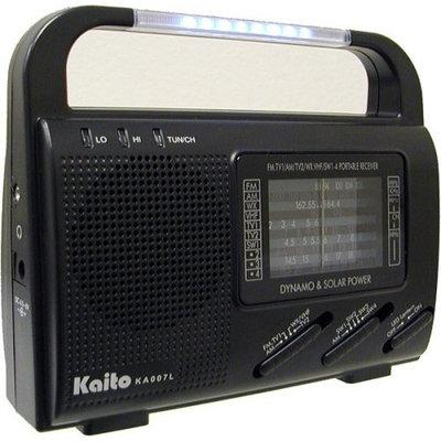 Kaito KA007L - Portable radio - black