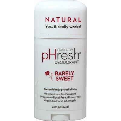 pHresh Deodorant, Barely Sweet, 1.7 oz