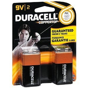 Duracell Alkaline Batteries Coppertop
