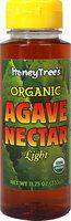 HoneyTree Organic Light Agave Nectar-11.75 oz Bottle