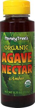 HoneyTree Organic Amber Agave Nectar-11.75 oz Bottle