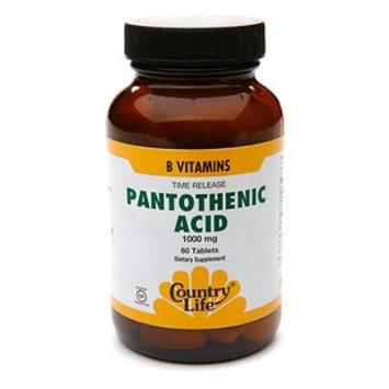Country Life Pantothenic Acid 1000 mg