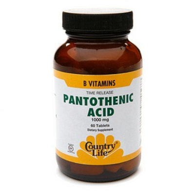 Country Life Pantothenic Acid 1000 mg