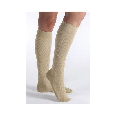 Jobst Women's CasualWear 15-20 mmHg Knee High Sock Size: Medium, Color: Sand