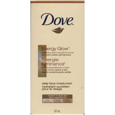 Dove Energy Glow Daily Face Moisturizer, Medium to Dark Skin, (50 ml)