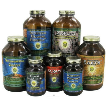 Healing Cleanse Level 3 HealthForce Nutritionals 7 Piece Kit (for Men)
