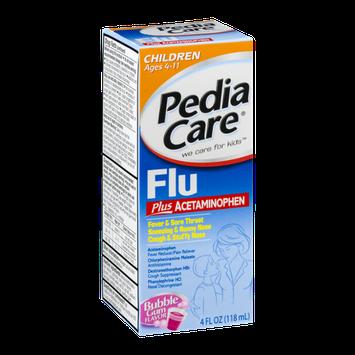 PediaCare Flu Ages 4-11 Bubble Gum Flavor