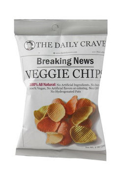 The Daily Crave Veggie Chips 1 oz - Vegan