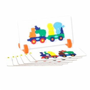 Guidecraft Animal Train Sort and Match, Multi, 1 ea