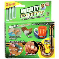 Mighty Putty Powerful Bonding Epoxy Sticks 3 Pack