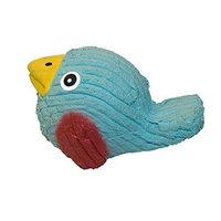HuggleHounds Ruff-Tex Blue Bird Dog Toy - Mini