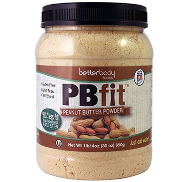 BetterBody Foods & Nutrition BetterBody Foods PB Fit Powder, Peanut Butter, 30 Ounce [Peanut Butter, 30 Ounce] [{