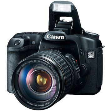 Canon EOS 50D Black 15.1 MP Digital SLR w/ 28-135mm IS Lens, 3