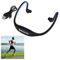 Insten INSTEN Blue Wireless Bluetooth Sport Headset Headphone for Samsung Galaxy iPhone 6 6+ Universal Running Jogging GYM