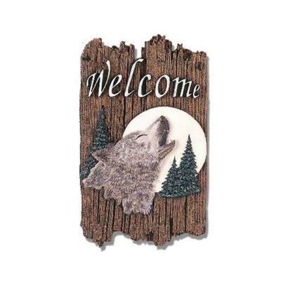 Millwork Eng Dba The Craft Room 'Wolf' Resin Wall Art