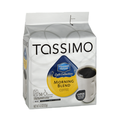 Tassimo Maxwell House Cafe Collection Morning Blend Coffee