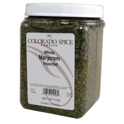 Colorado Spice Marjoram, Whole, 5-Ounce Jars (Pack of 3)