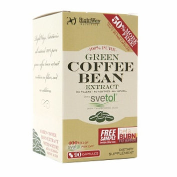 Rightway Nutrition Green Coffee Bean Extract with Svetol