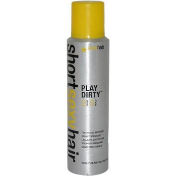 Sexy Hair Concepts Sexy Hair Short Sexy Play Dirty Hair Spray, 4.8 Ounce