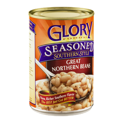 Glory Foods Seasoned Southern Style Great Northern Beans