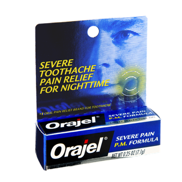 Orajel P.M. Formula Toothache Oral Severe Pain Reliever