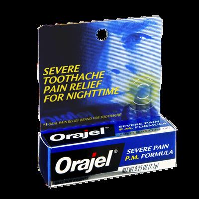 Orajel P.M. Formula Toothache Oral Severe Pain Reliever