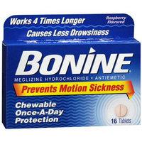 Bonine Antiemetic Chewable Tablets Raspberry