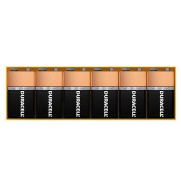 Duracell 9V Batteries, 6 ea