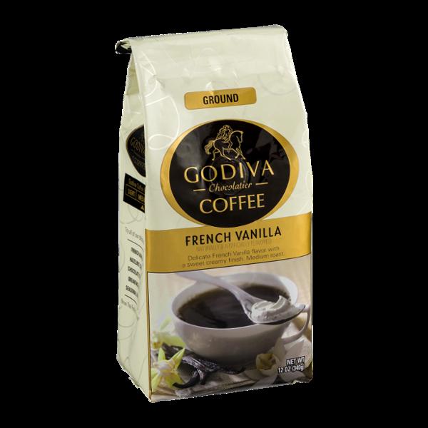 Godiva Chocolatier Coffee Ground French Vanilla