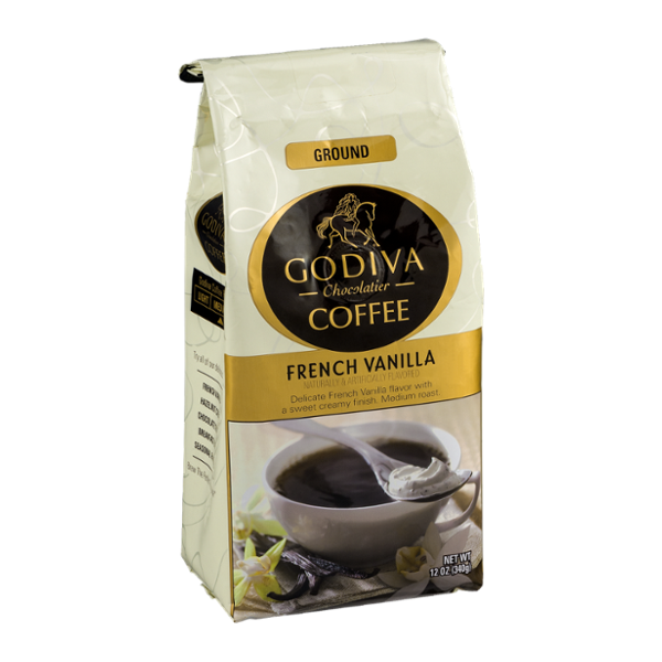 Godiva Chocolatier Coffee Ground French Vanilla