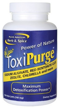 North American Herb Spice Toxi Purge, 120 Caps by North American Herb & Spice