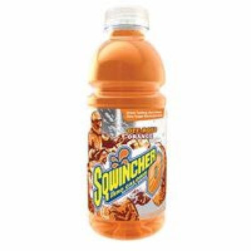 SQWINCHER 030801-OR Sports Drink, Bottle, Orange, PK24