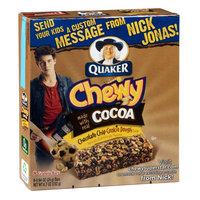 Quaker® Chewy, Chocolate Chip Cookie Dough
