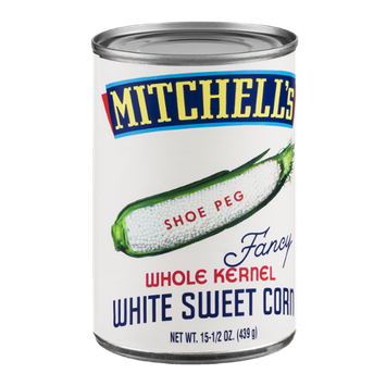 Mitchell's Whole Kernel White Sweet Corn