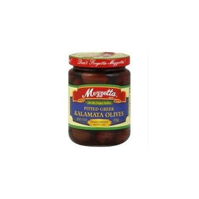 Mezzetta Pitted Calamata Olives, 4. 75 Oz, Pack Of 6