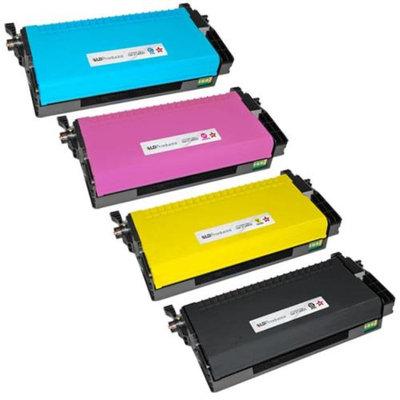 LD Refurbished Dell 2145 2145 Set of 4 High Yield Laser Toner Cartidges: 1 Black 330-3789, Cyan 330-3792, Magenta 330-3791, Yellow 330-3790