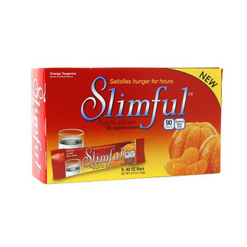 Slimful Sinfully Delicious 90 Calorie Chew 5-count Orange Tangerine