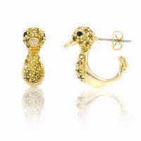 Emitations Dannity the Duck's Stud Earrings